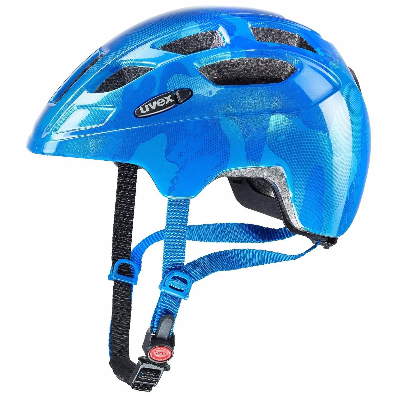 Fürfahrräder - uvex Finale Junior LED Kinderfahrradhelm (Größe 51 55 cm, 16 blue) - Onlineshop