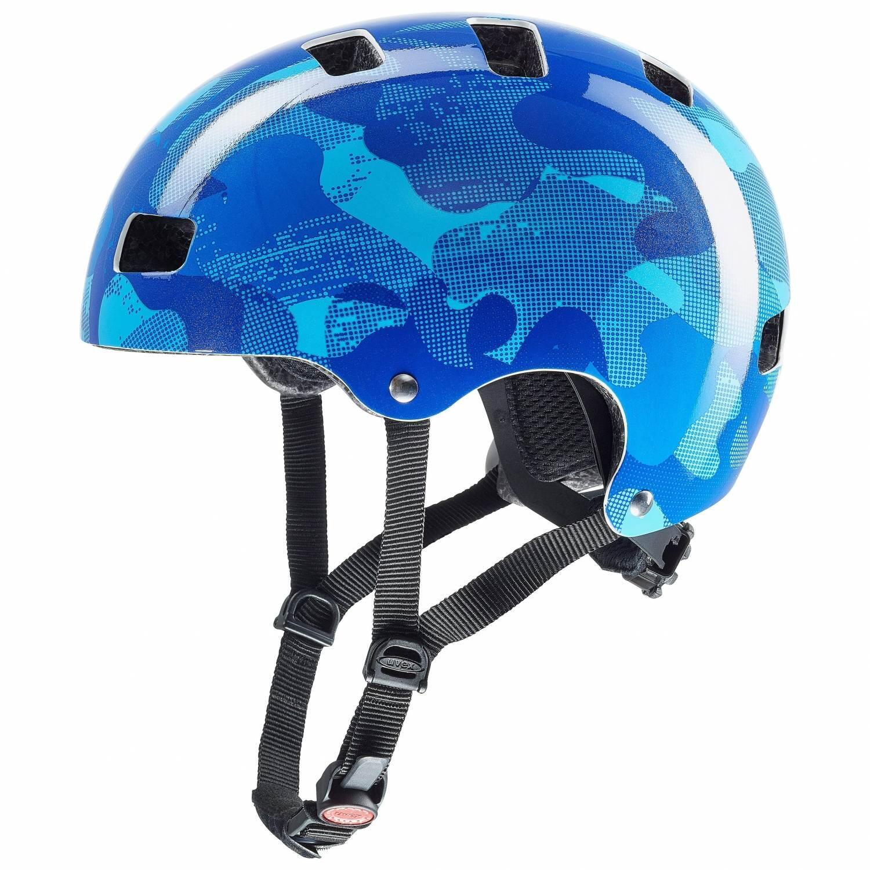 Fürfahrräder - uvex Kid 3 Kinder Fahrradhelm (Größe 55 58 cm, 22 blue camo) - Onlineshop