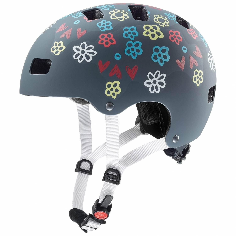 Fürfahrräder - uvex Kid 3 cc Kinder Fahrradhelm (Größe 51 55 cm, 01 grey) - Onlineshop