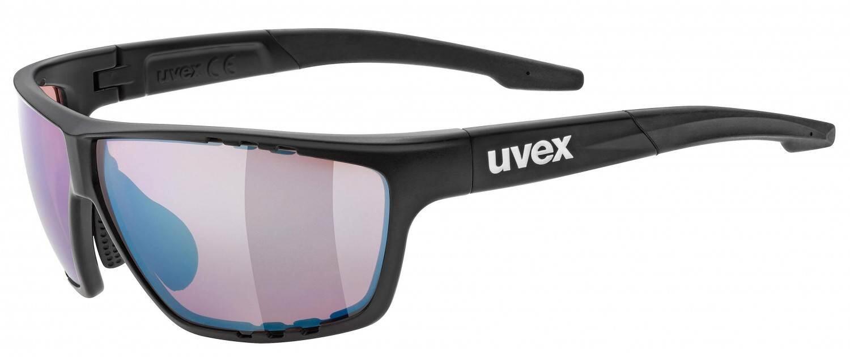 uvex-sportstyle-706-colorvision-sportbrille-farbe-2296-black-mat-colorvision-litemirror-outdoor-, 69.90 EUR @ sportolino-de
