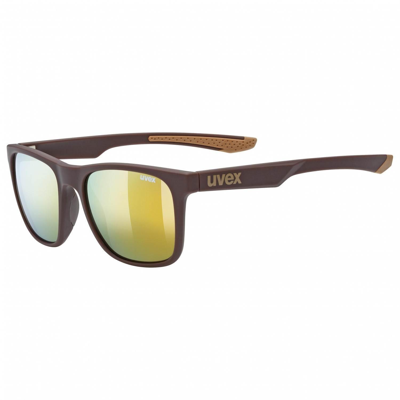uvex-lgl-42-sonnenbrille-farbe-6616-brown-mat-mirror-gold-s3-