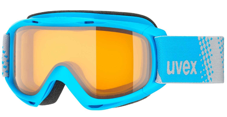 uvex Kinderskibrille Slider (Farbe 4030 blue, lasergold lite clear (S1))