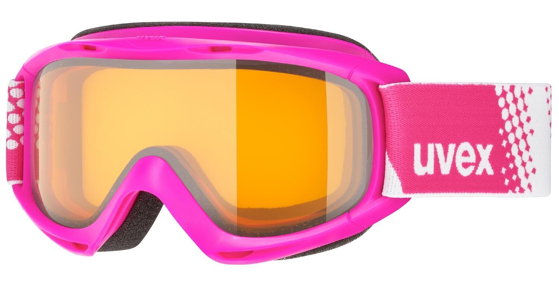 Fürski - uvex Kinderskibrille Slider (Farbe 7030 pink, lasergold lite clear (S1)) - Onlineshop