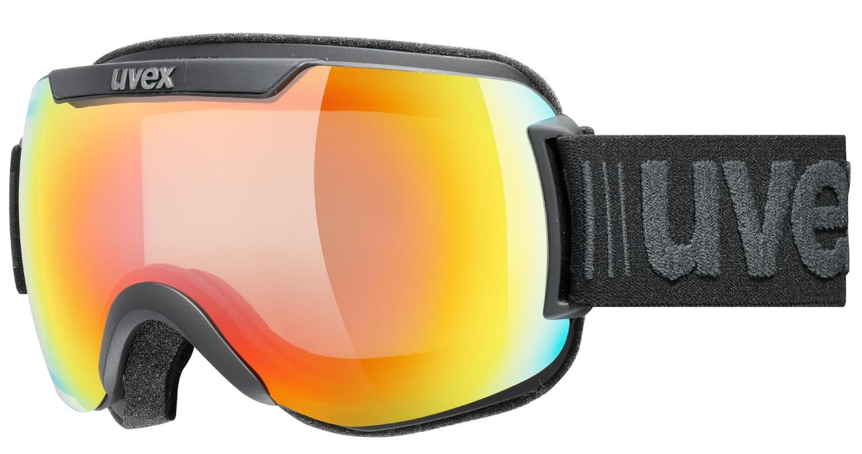 uvex-downhill-2000-v-skibrille-farbe-2030-black-mat-mirror-rainbow-variomatic-clear-s1-s3-