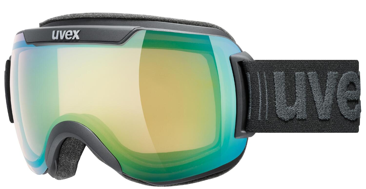 uvex-downhill-2000-v-skibrille-farbe-2130-black-mat-mirror-green-variomatic-clear-s1-s3-