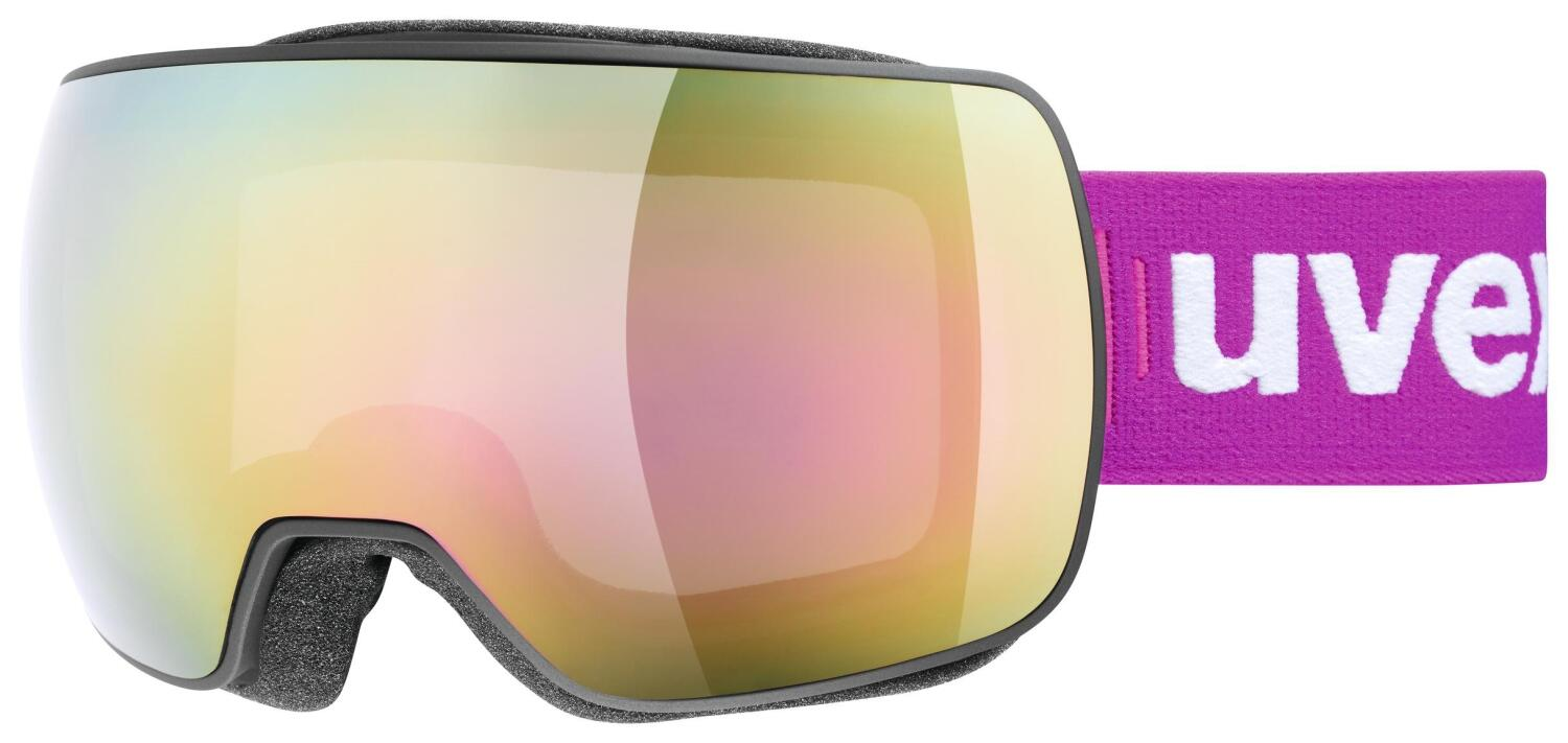 uvex-compact-fullmirror-skibrille-farbe-2026-black-mat-mirror-pink-clear-