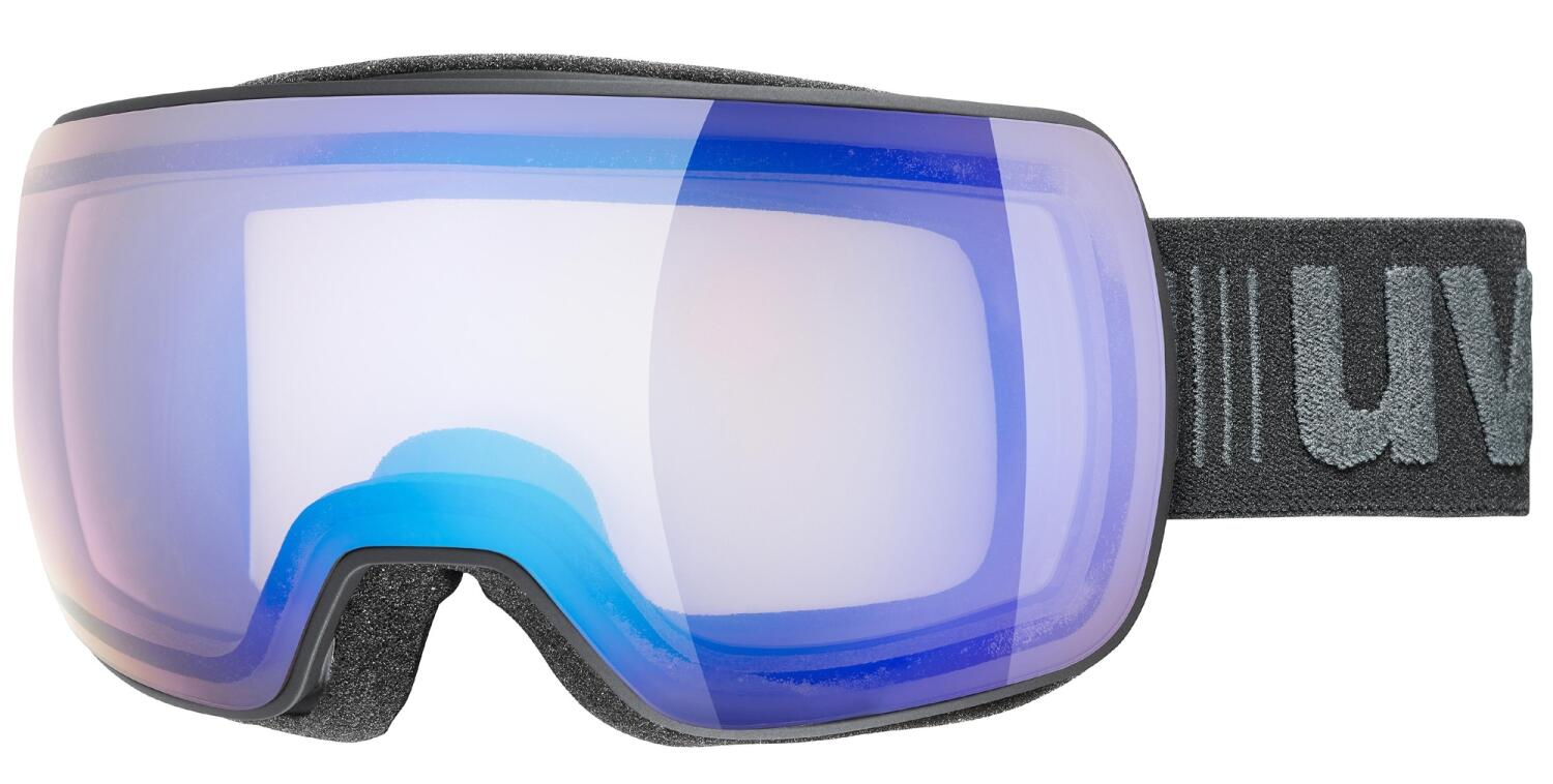 uvex-compact-variomatic-skibrille-farbe-2030-black-mat-mirror-blue-variomatic-clear-s1-s3-