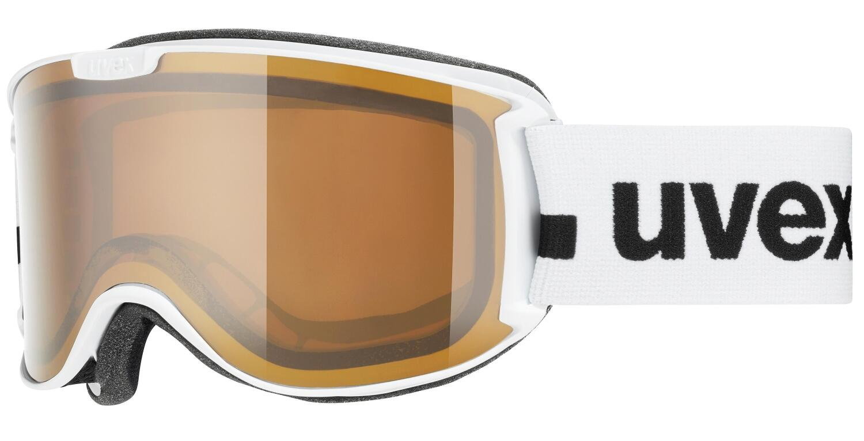 uvex-skyper-polavision-skibrille-farbe-1030-white-mat-polavisison-brown-clear-s2-