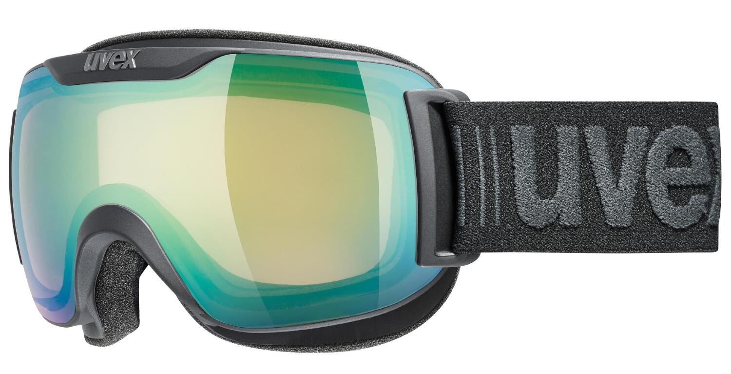 uvex-downhill-2000-small-variomatic-skibrille-farbe-2130-black-mat-mirror-green-variomatic-clear-