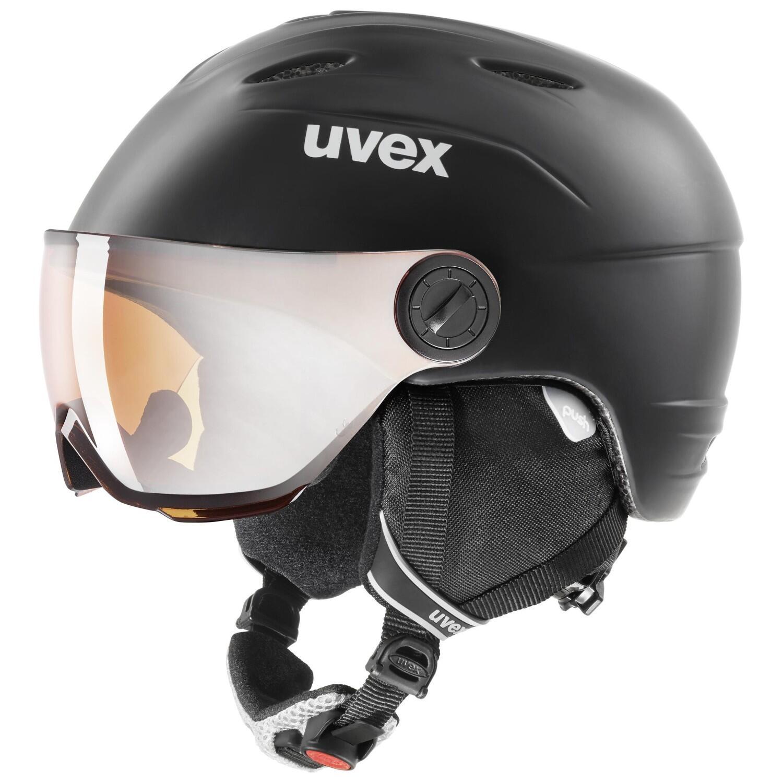 Fürski - uvex Junior Visor Pro Kinderskihelm (Größe 54 56 cm, 91 black mat) - Onlineshop