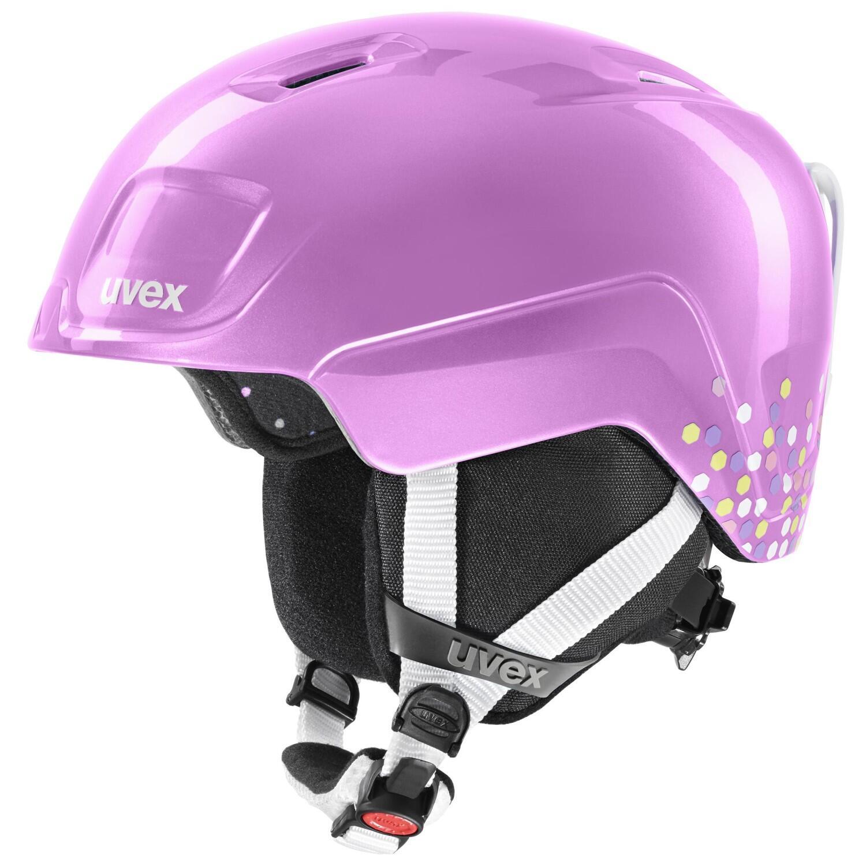 Fürfahrräder - uvex Heyya Kinder Skihelm (Größe 46 50 cm, 30 pink confetti) - Onlineshop