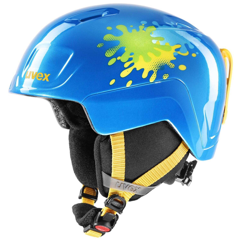 Fürfahrräder - uvex Heyya Kinder Skihelm (Größe 51 55 cm, 40 blue splash) - Onlineshop