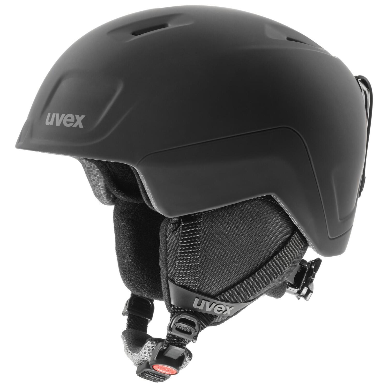 Fürfahrräder - uvex Heyya Pro Kinder Skihelm (Größe 54 58 cm, 60 black mat) - Onlineshop