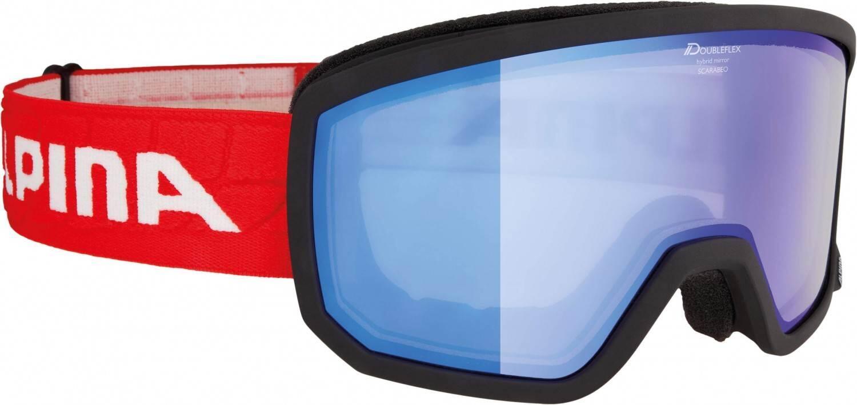 alpina-scarabeo-brillentr-auml-ger-skibrille-hybrid-mirror-farbe-892-black-matt-scheibe-hybridmi