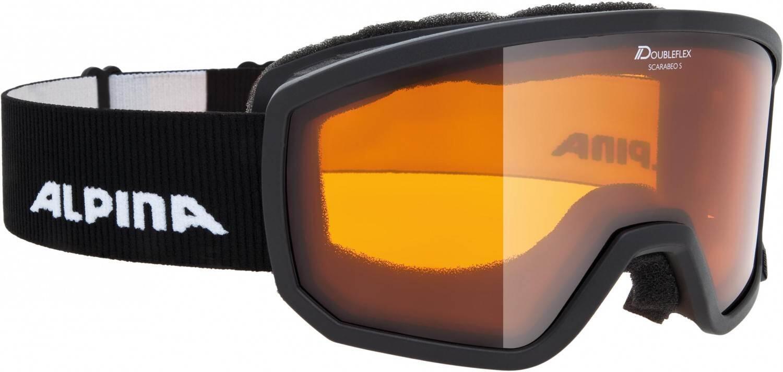 alpina-scarabeo-small-skibrille-dh-farbe-131-black-scheibe-doubleflex-hicon-s2-