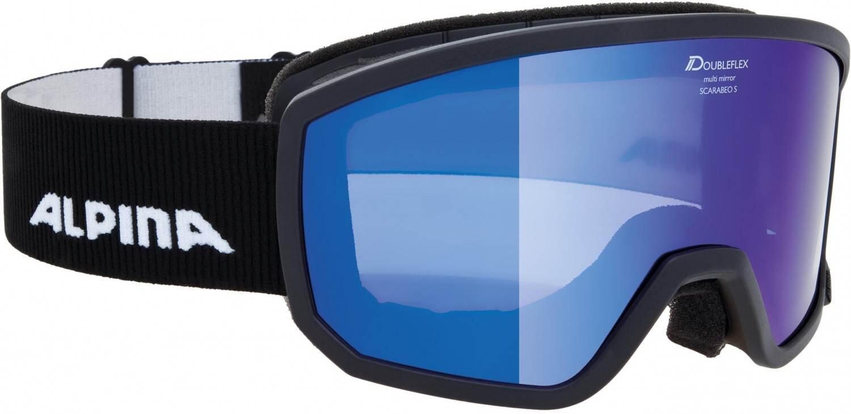 alpina-scarabeo-s-skibrille-mirror-farbe-831-black-scheibe-mirror-blue-