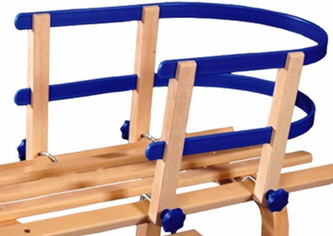 Fürschlitten - VT Sport Schlittenlehne Plastik, SLP 10005 (Farbe blau) - Onlineshop