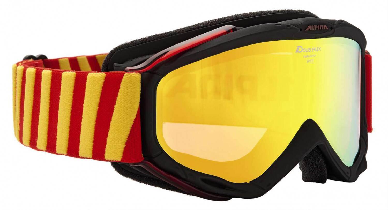 alpina-spice-hm-skibrille-farbe-833-schwarz-rot-scheibe-multimirror-orange-