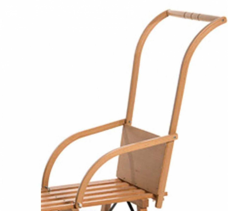 Fürschlitten - Sirch Schlitten Schiebelehne Holz (Farbe buche esche lackiert) - Onlineshop
