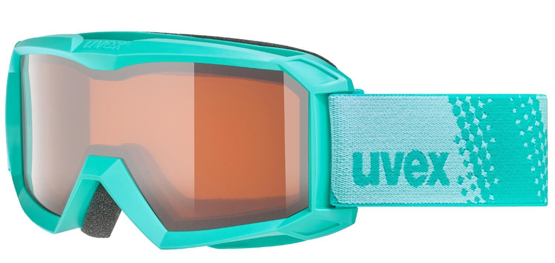 Fürski - uvex Flizz Lasergold Kinderskibrille (Farbe 7030 mint, lasergold clear (S2)) - Onlineshop