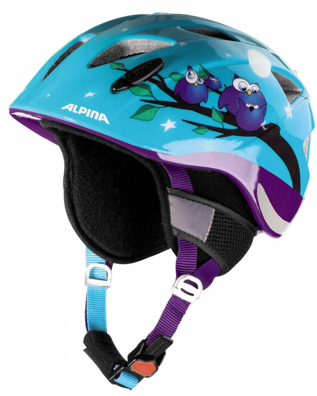 Alpina Ximo Flash Winter Kinderfahrradhelm