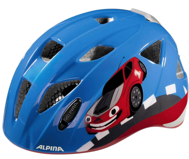 Fürfahrräder - Alpina Ximo Flash Kinderfahrradhelm (Größe 45 49 cm, 80 red car) - Onlineshop
