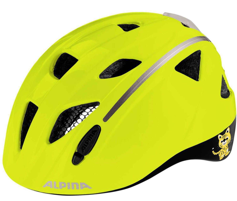 Fürfahrräder - Alpina Ximo Flash Kinderfahrradhelm (Größe 47 51 cm, 40 be visible reflective) - Onlineshop