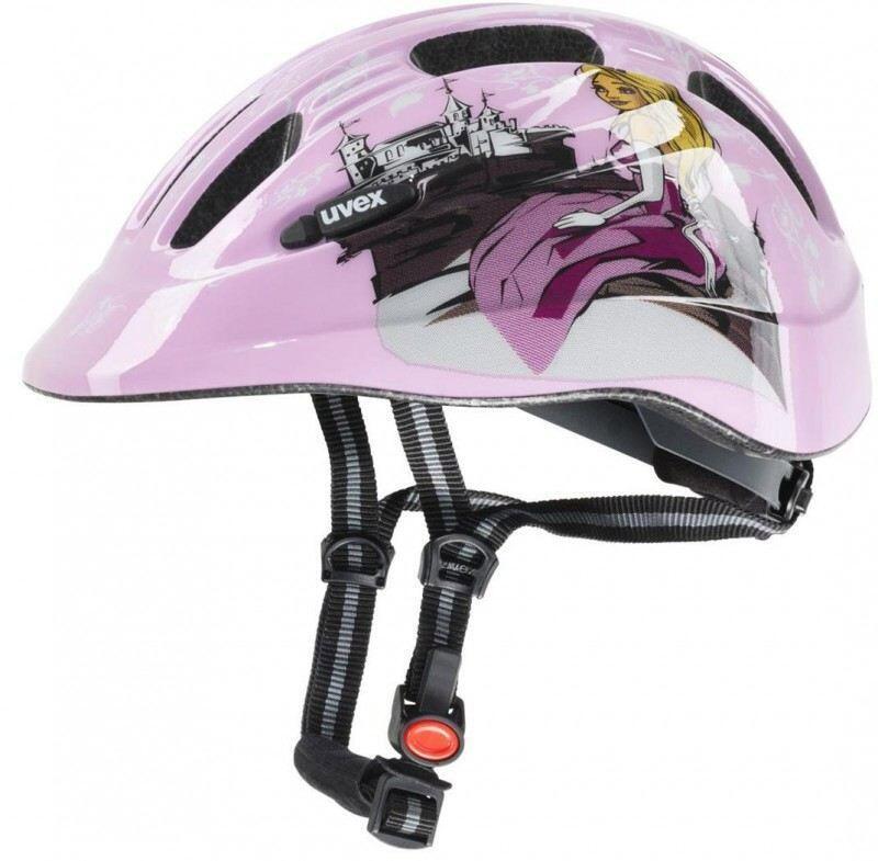 Fürfahrräder - Kinderfahrradhelm uvex Cartoon (Größe 49 55 cm, 03 princess pink) - Onlineshop