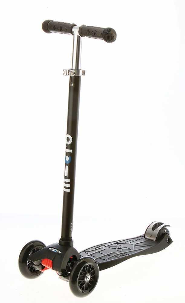 Roller - Micro Kinderkickboard Maxi Micro mit T Lenker (Farbe schwarz) - Onlineshop