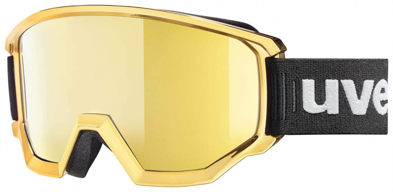 uvex Athletic FM Chrome Brillenträger Skibrille