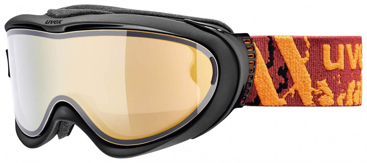 uvex-comanche-take-off-polavision-brillentr-auml-ger-skibrille-farbe-2030-black-mat-mirror-orange