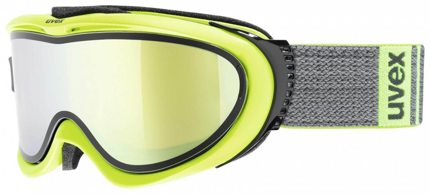 uvex-skibrille-comanche-take-off-farbe-7026-lime-mat-mirror-gold-lasergold-lite-clear-s1-s2-