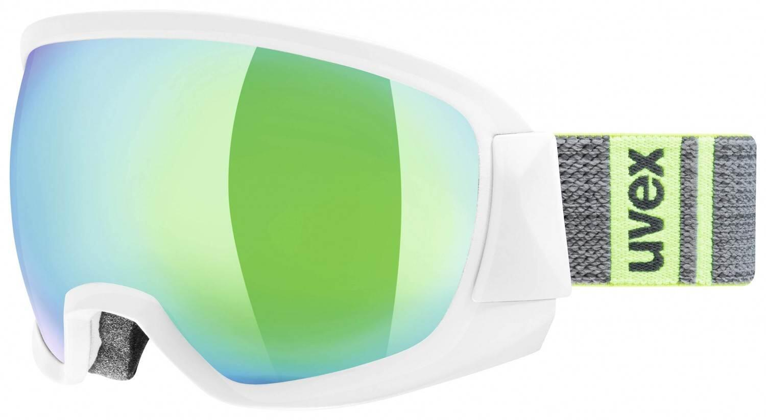 uvex-contest-full-mirror-skibrille-farbe-1026-white-mat-mirror-green-clear-s3-