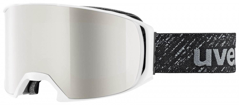 uvex-craxx-brillentr-auml-gerskibrille-litemirror-farbe-1026-white-mat-litemirror-silver-lasergol