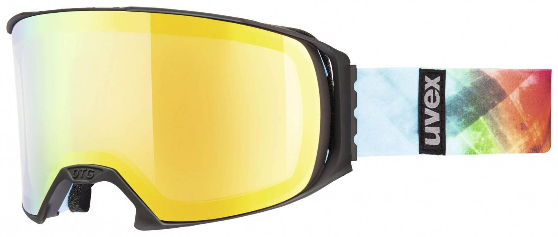 uvex-craxx-brillentr-auml-gerskibrille-litemirror-farbe-2226-black-mat-litemirror-orange-lasergol