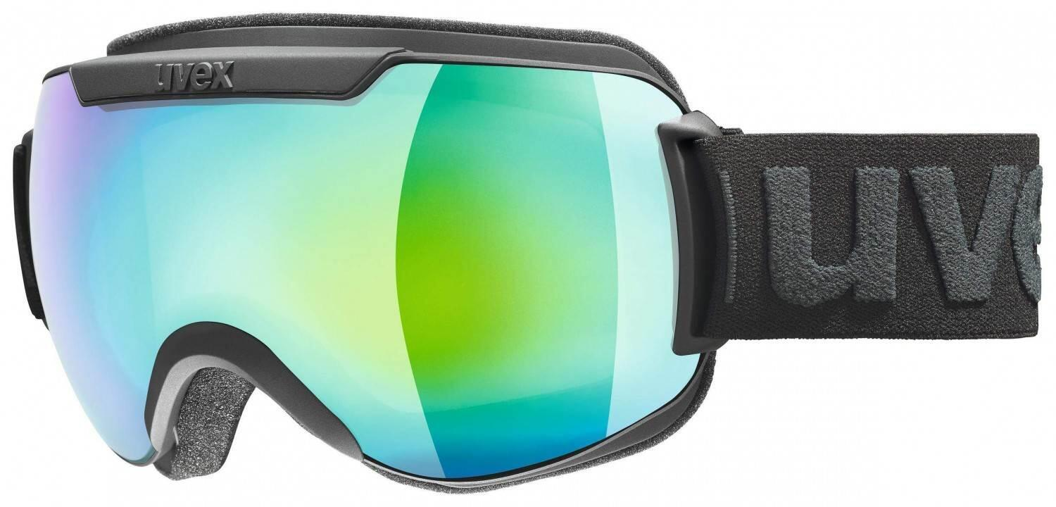 uvex-skibrille-downhill-2000-full-mirror-farbe-2130-black-mat-mirror-green-clear-