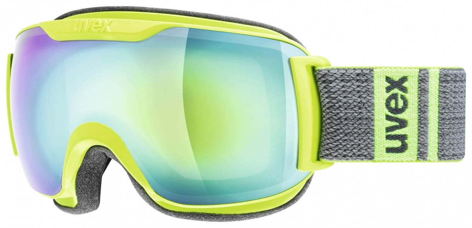 uvex-skibrille-downhill-2000-small-full-mirror-farbe-7026-lime-grey-mat-mirror-green-clear-