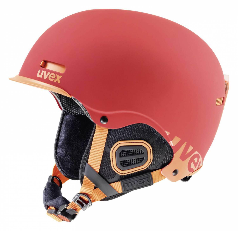 uvex HLMT 5 Core Skihelm (Größe: 59-62 cm, 38 red/orange mat)
