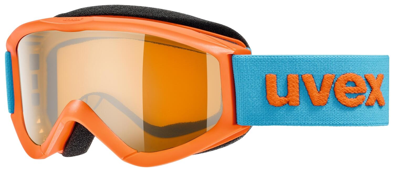uvex-kinderskibrille-speedy-pro-farbe-3030-orange-single-lens-lasergold-