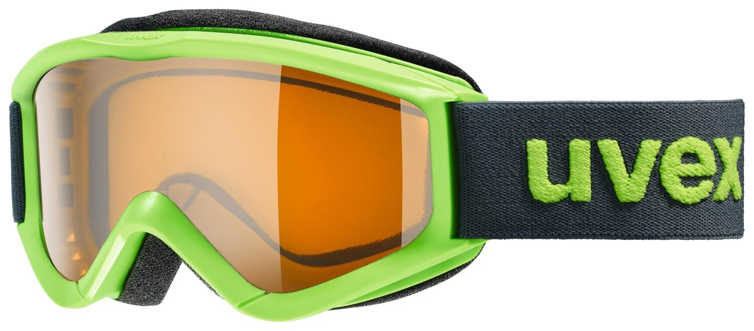 uvex-kinderskibrille-speedy-pro-farbe-7030-lightgreen-single-lens-lasergold-s2-