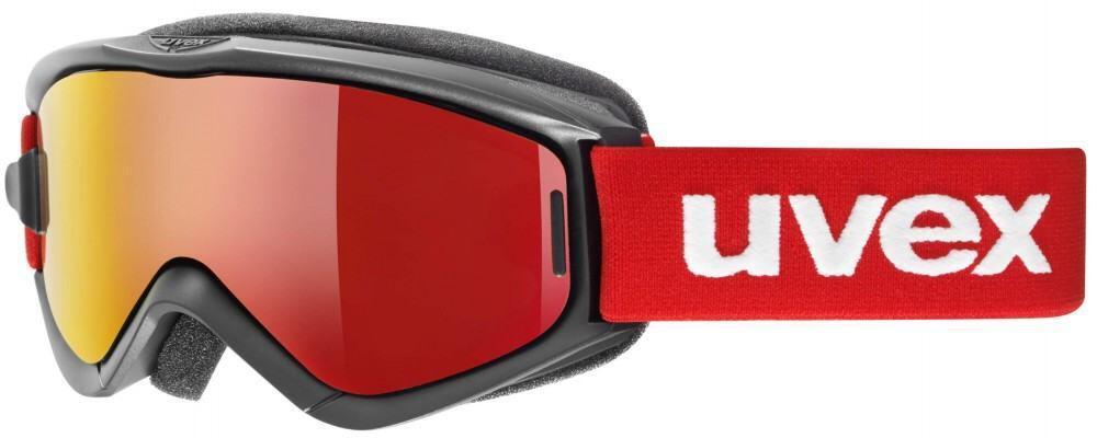 Fürski - uvex Kinderskibrille Speedy Pro Take Off (Farbe 2026 black red, litemirror red lasergold lite clear) - Onlineshop