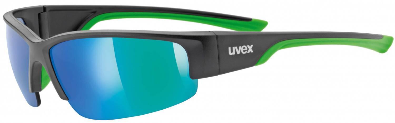 uvex-sportstyle-215-sportbrille-farbe-2716-black-mat-green-mirror-green-s3-, 19.90 EUR @ sportolino-de