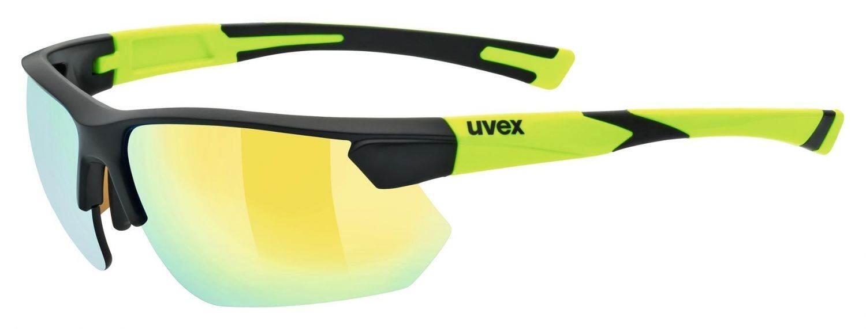 uvex-sportstyle-221-sportbrille-farbe-2616-black-mat-yellow-mirror-yellow-s3-, 27.90 EUR @ sportolino-de