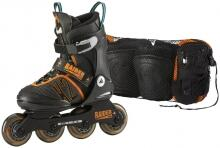 K2 Raider Pro Pack Junior Inlineskate Set