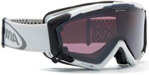 Alpina Panoma S Magnetic Brillenträger Skibrille (Farbe: 031 schwarz matt, Scheibe: QUATTROFLEX Hicon/SINGLEFLEX schwarz)