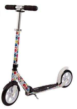 Micro Scooter White Floral Multicolor