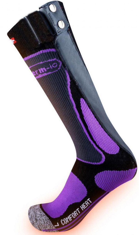 Therm-ic PowerSock Comfort Heat Ladies (Größe: 39.0 - 40.0, purple/schwarz/grau) Sale Angebote