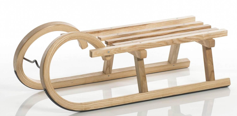 Sirch Minirodel Esche mit Lattensitz (Größe 68 cm, esche lackiert)