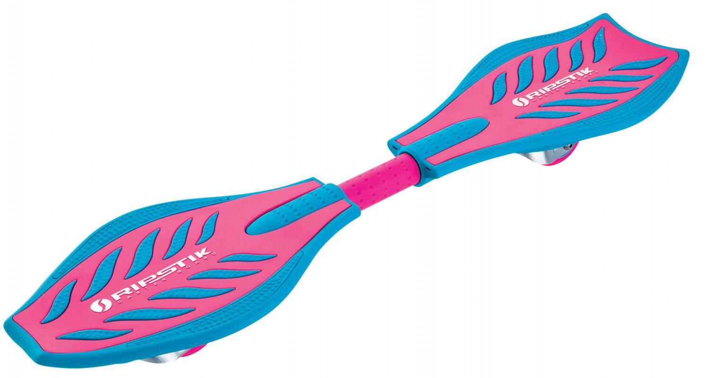 Razor Ripstick Caster Brights Waveboard (Farbe: pink/blue)