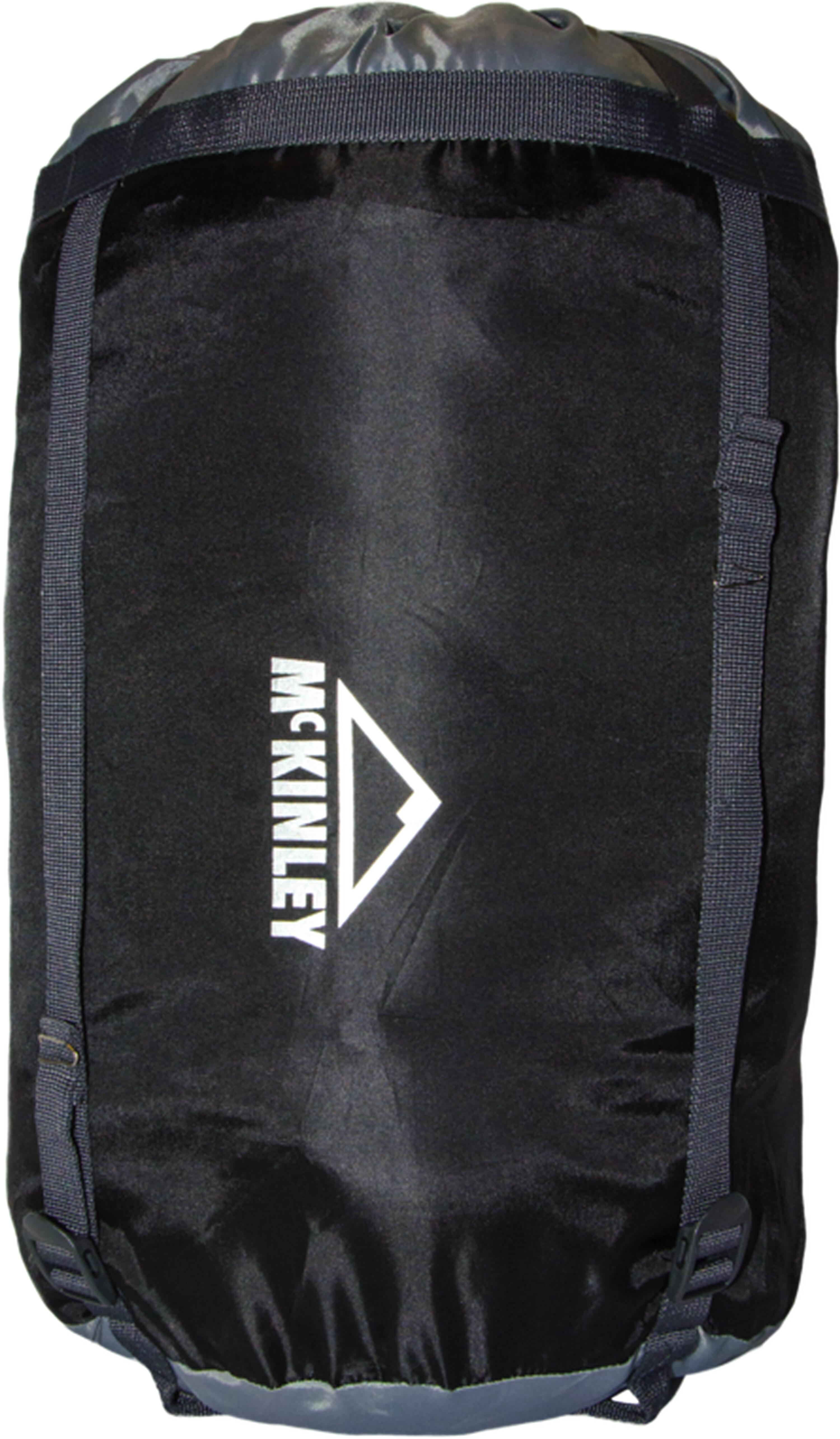 McKinley Kompressionspacksack Professional (Größe: 2 (45x22 cm), 900 charcoal/hellgrau)
